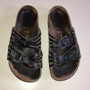 Birkenstock Granada - Black - Size 37 (US 7)